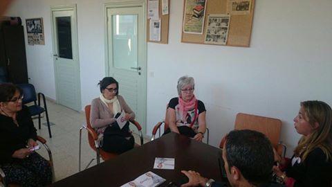 Reunión no Poligono Industrial Portela,con Cangas Vella e o sector sanitario.