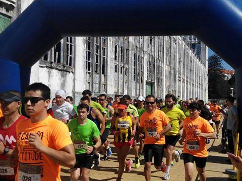 Imaxes da saída do running