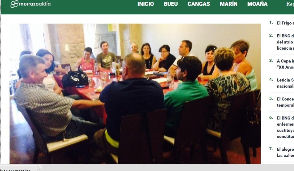 Cangas Decide creará un comité executivo e unha xunta local