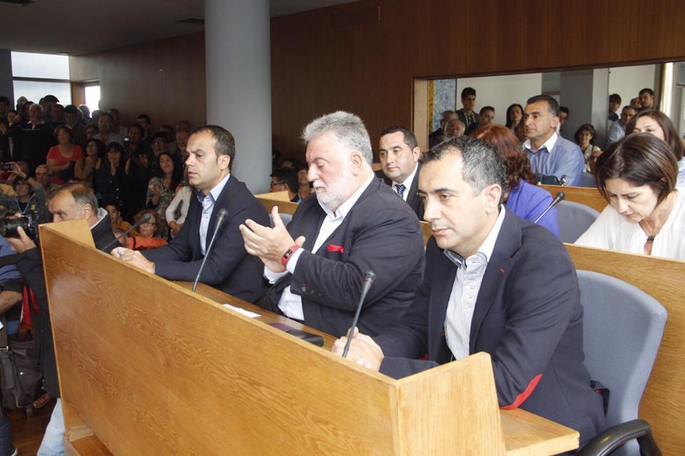 O alcalde acepta a colaboración ofrecida por Gestido.