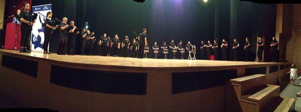 Clausura da Escola de Gaitas e Percusión