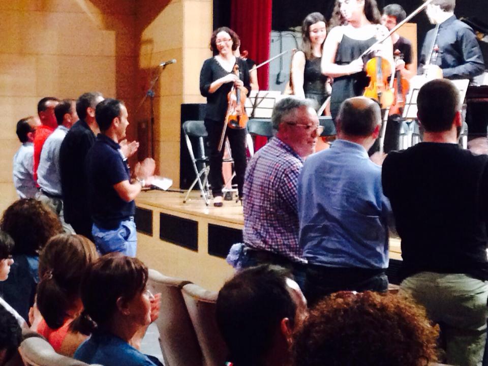 Fin de curso da Escola de Música e Conservatorio
