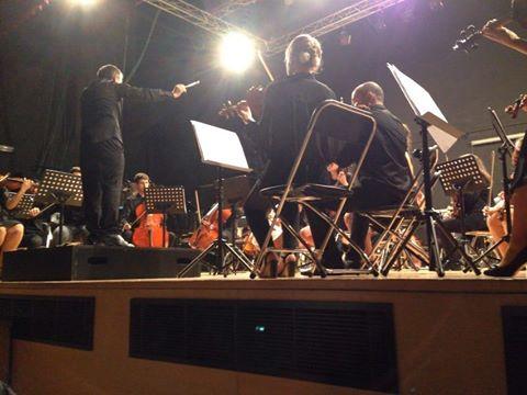 Concerto Proxecto Orquestal no Auditorio de Cangas